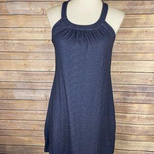 Prana M NWT Cantine Dress Anchor Sea Spray Blue